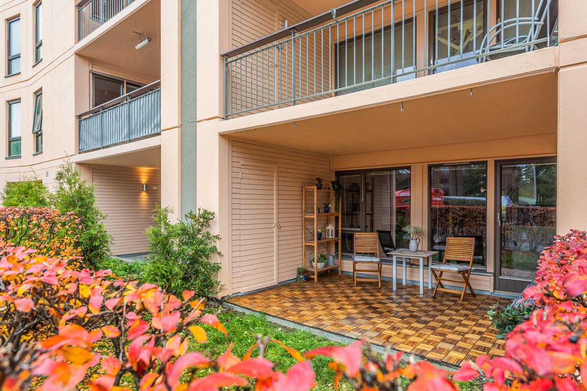 Velkommen til Badebakken 12 og denne store og fine leiligheten!