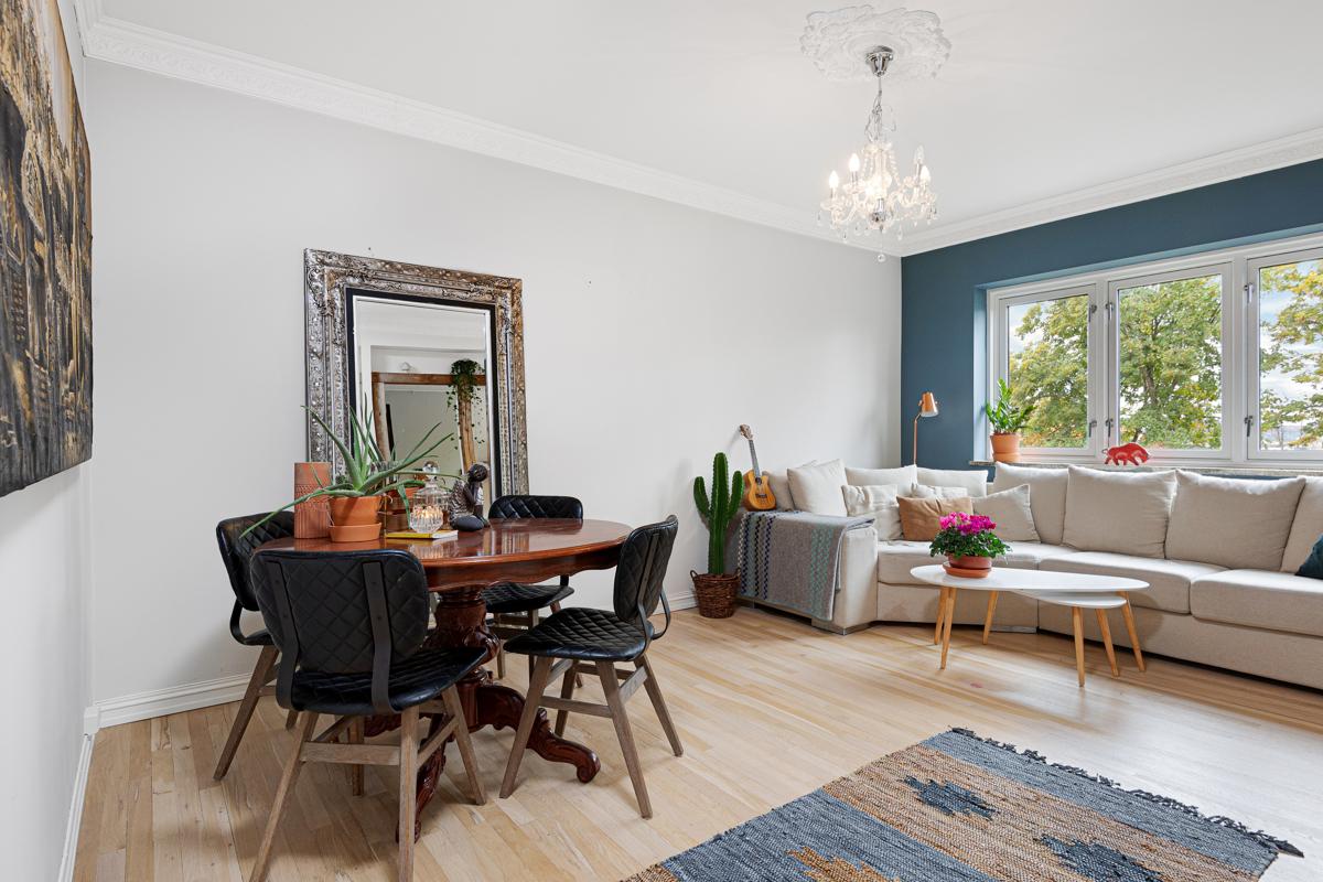 Kjerstin Falkum (922 04 707) ved Schala & Partners har gleden av å presentere denne lekre leiligheten i Christian Michelsens gate 43!