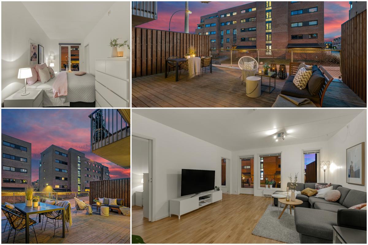 Lys og pen 2-roms fra 2013 | Stor terrasse på 37 kvm | Tappefri adkomst | Mulig kjøp av garasjeplass | Rolig boområde!