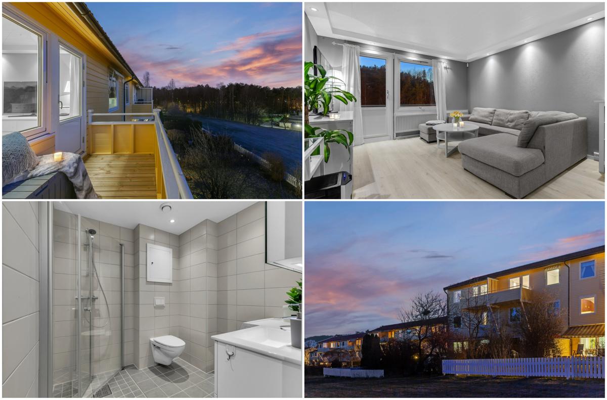 Nyoppusset 2-r leil. m/ vestvendt balkong | Gode solforhold | Varmtvann og oppvarming inkl. | Ingen dok-avgift.
