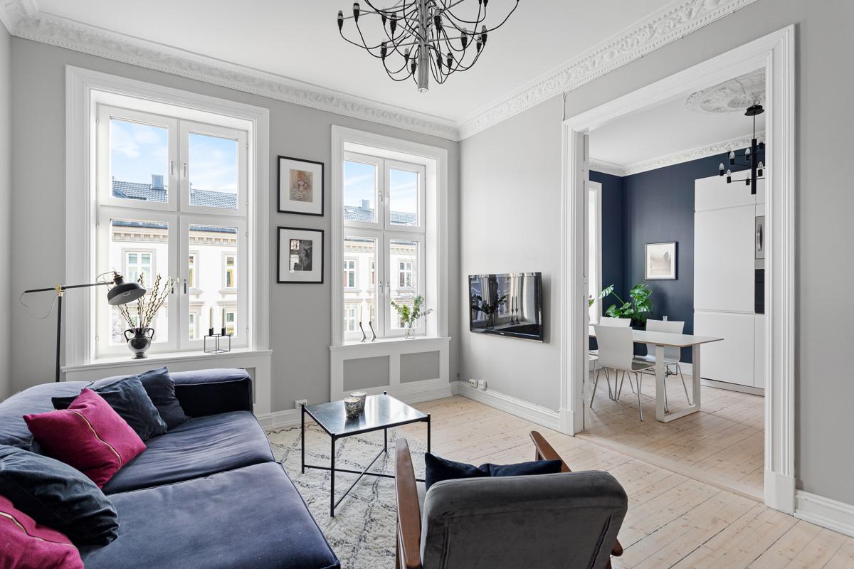 Velkommen til St. Hanshaugen og denne fine 3-roms leiligheten!