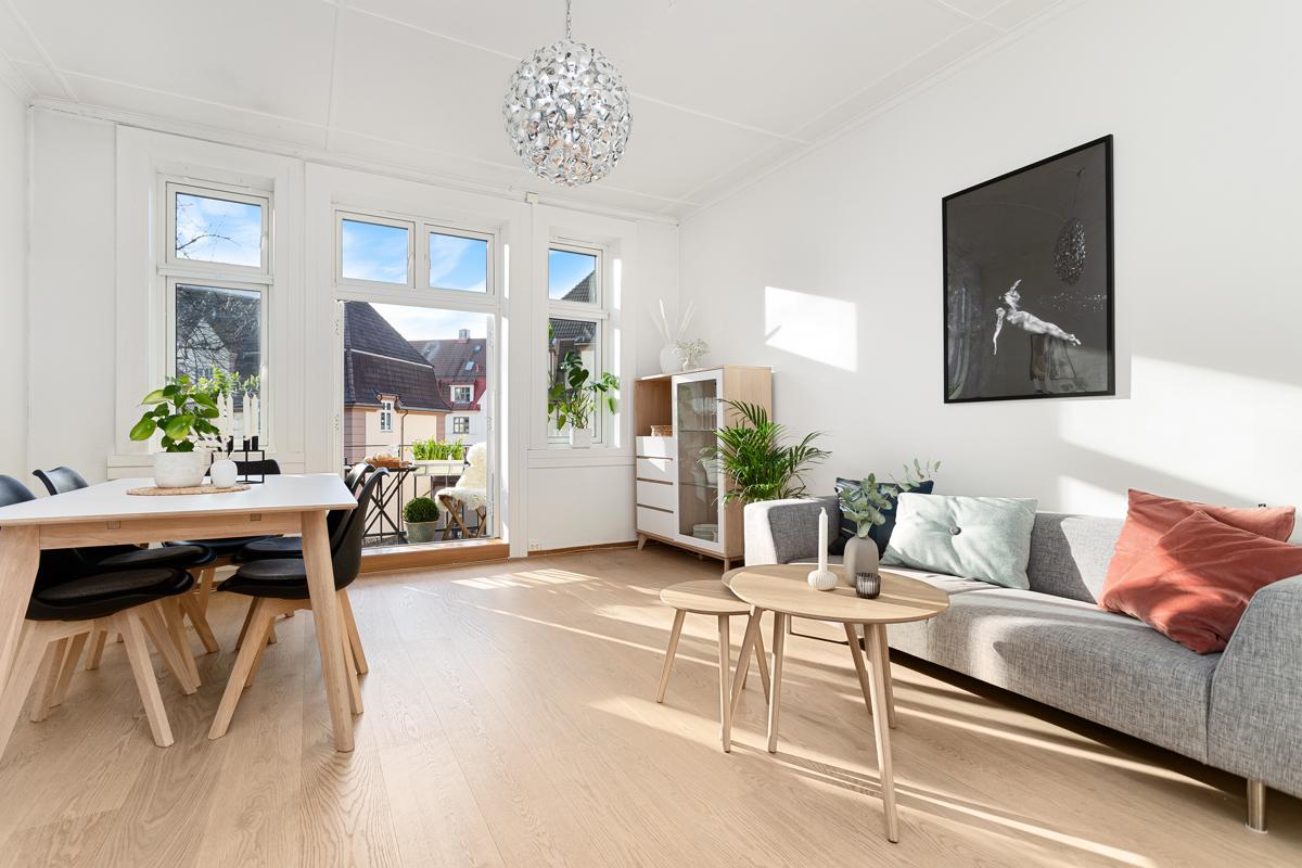 Velkommen på visning til denne nydelige leiligheten i Torshov Kvartal 2!