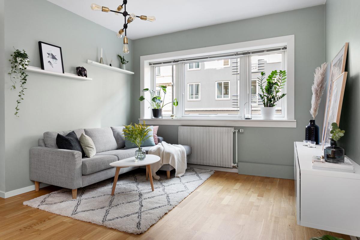 Velkommen på visning til denne flotte 2-roms leiligheten midt på populære Løkka!