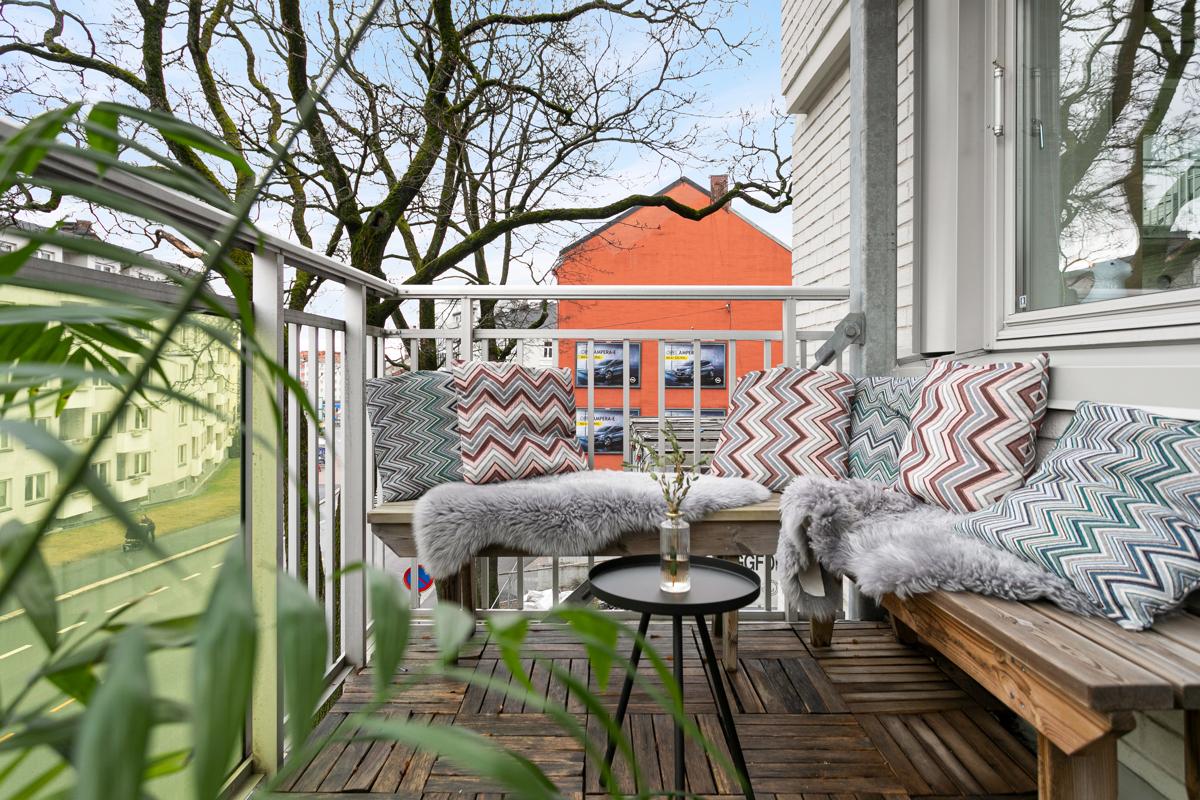Velkommen til Sandaker ved Nydalen og denne fine leiligheten!
