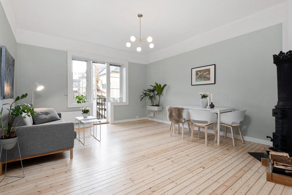 Truls Martin Nygaard (tlf 476 29 151) ved Schala & Partners har gleden av å presentere denne fantastiske leiligheten i Thurmanns gate 3!