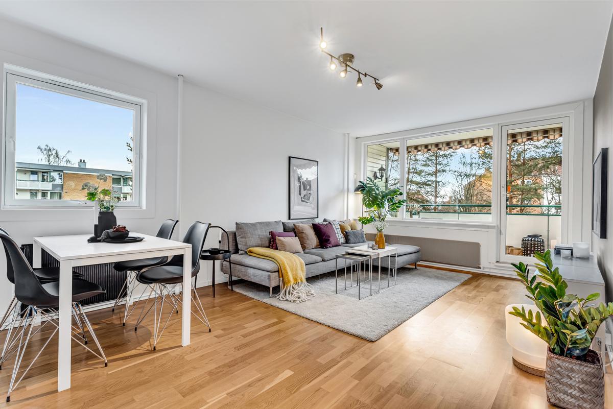 Torfinn Sørvang (977 59 812) ved Schala & Partners har gleden av å presentere denne leiligheten i Rugveien 38!